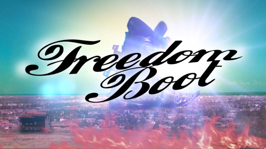 FREEDOM BOOT LOGO