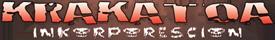 Logo Krakatoa Inkorporescion - solo scritta