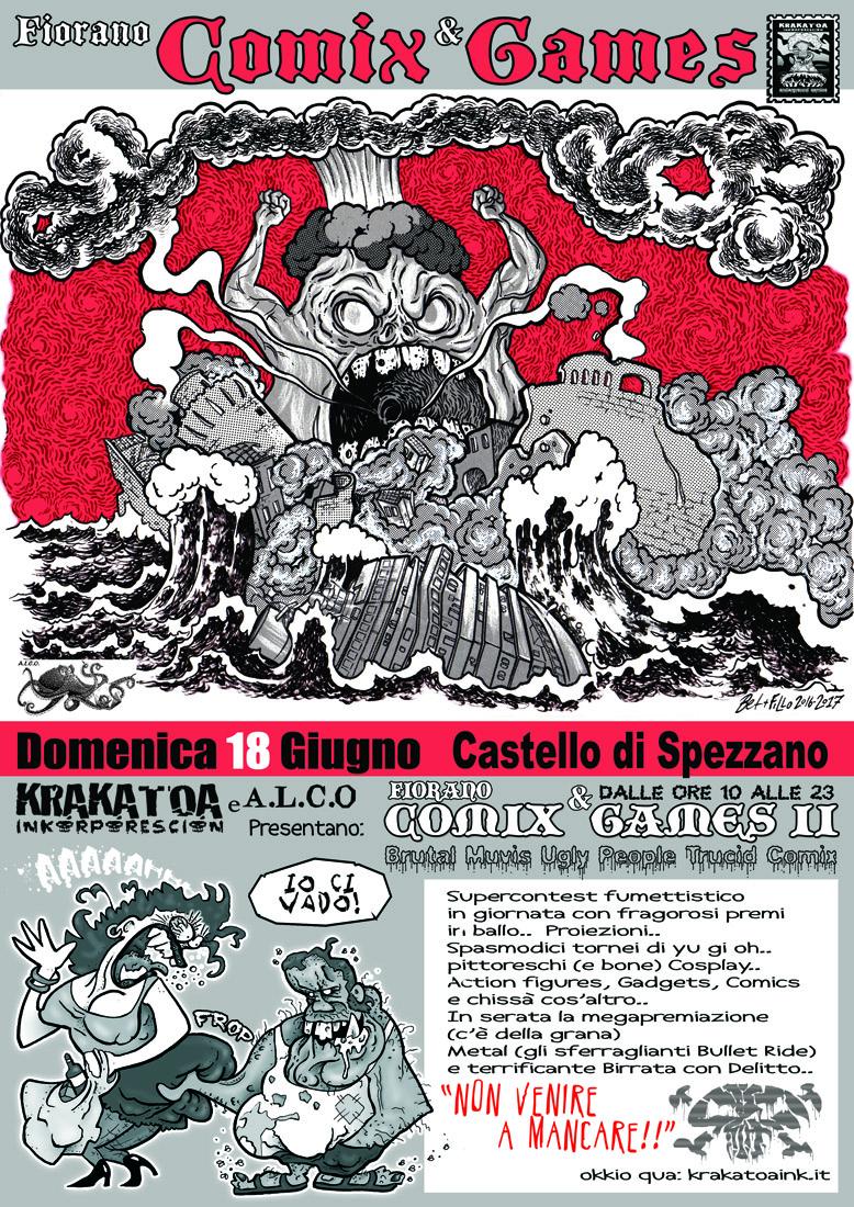 Fiorano Comix and Games II, edizione 2017
